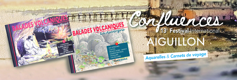 CONFLUENCES, 13e FESTIVAL INTERNATIONAL D'AQUARELLES & CARNETS DE VOYAGE D'AIGUILLON